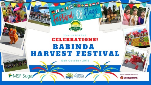Babinda Harvest Festival -13th October 2018